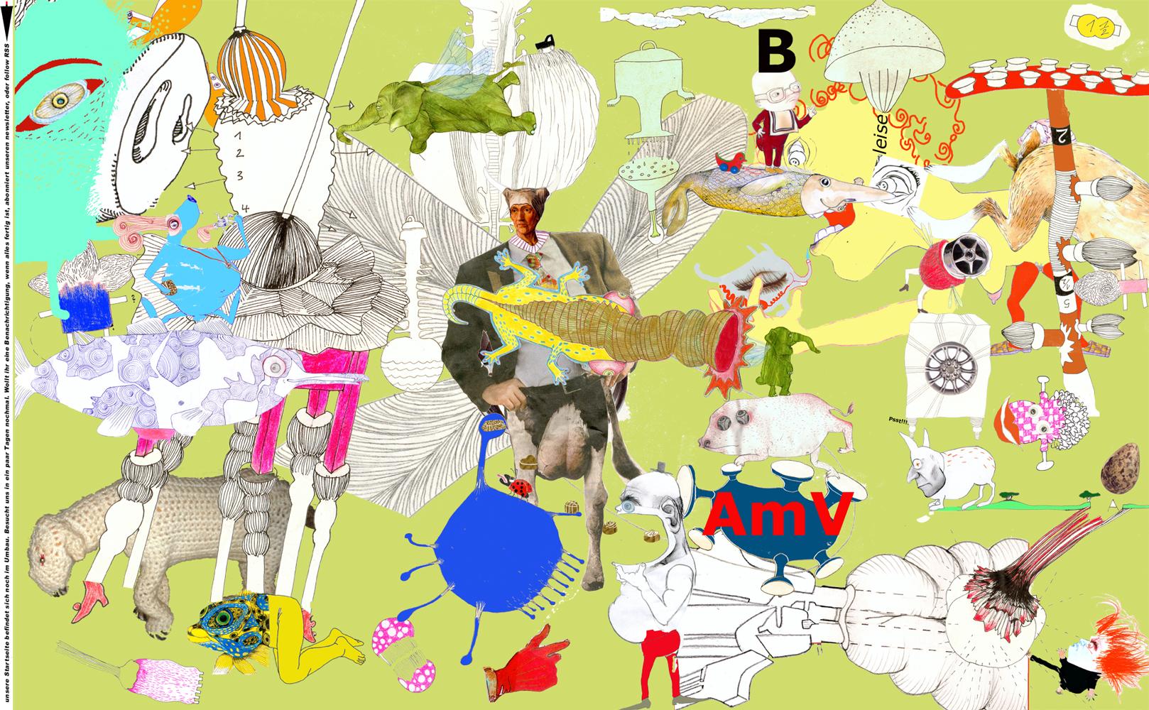 Internetpräsenz der fiktiven Illustratorengruppe